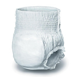 Protect Plus Protective Underwear, Large, 40 - 56in., White, 25 Per Bag, Case Of 4 Bags