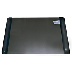 Office Depot(R) Brand Executive Desk Pad With Microban(R), 20in. x 36in., Black