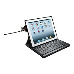 Kensington (R) KeyFolio Secure Case with Bluetooth (R) Keyboard for iPad (R) 2/3, Black