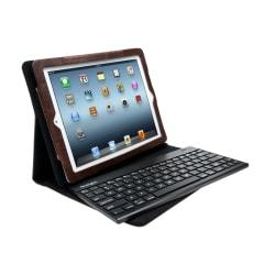 Kensington (R) K39639US Keyfolio (TM) Pro 2 Removable Bluetooth Keyboard For New iPad and iPad 2, Brown