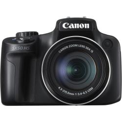 Canon PowerShot SX50 HS 12.1 Megapixel Bridge Camera - Black