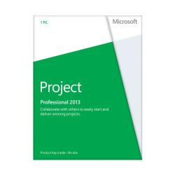 Microsoft(R) Office Project Professional 2013, English Version, Product Key