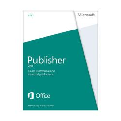 Microsoft(R) Office Publisher 2013, English Version, Product Key