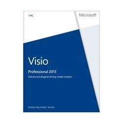 Microsoft(R) Office Visio(R) Professional 2013, English Version, Product Key