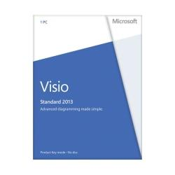 Microsoft(R) Office Visio(R) Standard 2013, English Version, Product Key