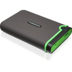 Transcend StoreJet M3 TS500GSJ25M3 500 GB Hard Drive - SATA - 2.5in. Drive - External