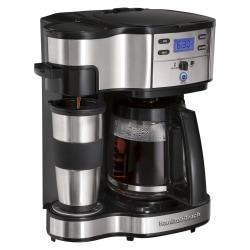 Hamilton Beach The Scoop Two-Way Brewer Coffee Maker