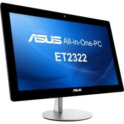 Asus ET2322INTH-04 All-in-One Computer - Intel Core i7 - Desktop - Black, Silver