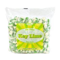 Quality Candy Key Lime Hard Candy Disks, 5-Lb Bag