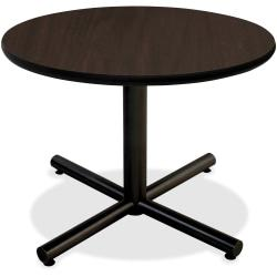 Lorell(R) Hospitality Round Table Top, 42in.W, Espresso