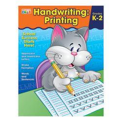 Carson-Dellosa Brighter Child Handwriting Workbook: Printing, Ages 5 - 7