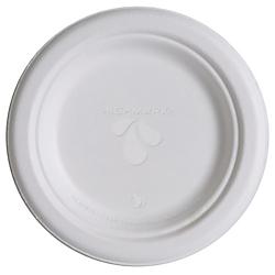 Highmark(R) Renewable Breakroom Plates, 6in., White, Pack Of 1,000