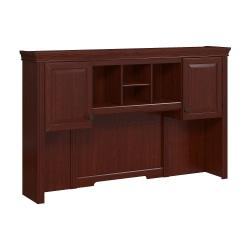 kathy ireland(R) Office by Bush Business Furniture Bennington Hutch, Harvest Cherry, Standard Delivery