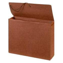 Office Depot(R) Brand Standard Expanding Wallet, Letter Size, 3 1/2in. Expansion, Brown, Pack of 2