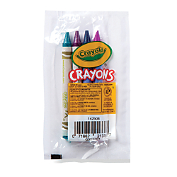 Crayola Standard Crayons Assorted Colors Pack