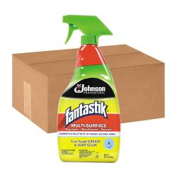 Fantastik(R) All-Purpose Cleaner, Pleasant Scent, 32 Oz, Pack Of 12