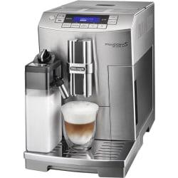 DeLonghi PrimaDonna S Deluxe 2-Cup Automatic Beverage Machine, Silver