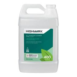 Highmark(R) All-Purpose Cleaner, Herbal Scent, 128 Oz, Case Of 4
