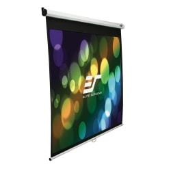 Elite Screens M135UWV2 Manual Pull Down Projector Screen