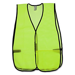 R3(R) Safety General Purpose Safety Vest, Lime Green