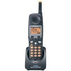 Panasonic KX-TGA450B 5.8GHz FHDSS Additional Handset For Use With KX-TG4500 System, Metallic Gray