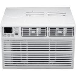 Whirlpool Energy Star Window-Mounted Air Conditioner With Remote, 15,000 BTU, 17 15/16in.H x 25 5/16in.W x 23 5/8in.D, White