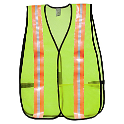 R3(R) Safety General Purpose Safety Vest, Lime
