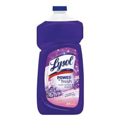 LYSOL Power Fresh All Purpose Cleaner - Pourable Lavender Orchid 40 oz