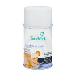 TimeMist Metered Fragrance Dispenser Refill, Aerosol, Lavender Lemonade, 5.3 oz. Includes 12 aerosol cans of air freshener.