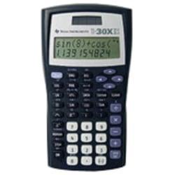 Texas Instruments(R) TI-30X IIS Calculators, Teacher Kit, Set Of 10