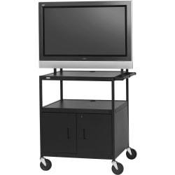 Bretford Basics FP42ULC-E5BK Flat Panel Cabinet Cart