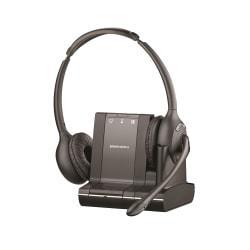 Plantronics(R) Savi(TM) 720-M Wireless Headset System, Black/Charcoal -  84004-01