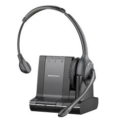 Plantronics(R) Savi(TM) 710-M Wireless Headset System, Black/Charcoal -  84003-01