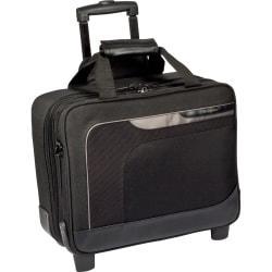 Targus Zip-Thru Carrying Case (Roller) for 15.6in. Notebook - Black, Gray