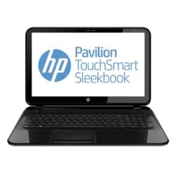 HP Pavilion TouchSmart Sleekbook Refurbished Laptop Computer With 15.6in. Touch Screen Intel (R) Core (TM) i3 Processor, 15-B161NR