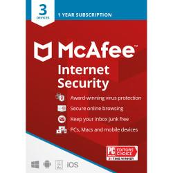 McAfee(R) Internet Security, For 3 Devices, For PC/Mac, Download