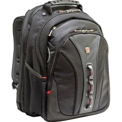 SwissGear LEGACY WA-7329-14F00 Carrying Case (Backpack) for 15.6in. Notebook - Black