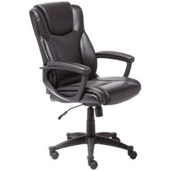 Serta(R) Executive Office High-Back Chair, Black