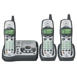Ativa AD583 3-Handset 5.8GHz Cordless Phone System With Call Waiting/Caller ID And Answering