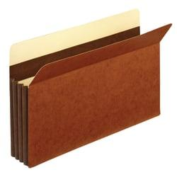 Office Depot(R) Brand Premium Redrope File Pockets, 3 1/2in. Expansion, Legal Size, Brown, Pack Of 10