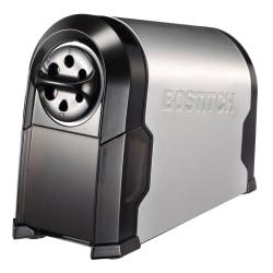 Bostitch(R) Super Pro Glow Commercial Electric Pencil Sharpener, 11 3/16in., Black/Silver