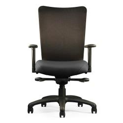 Neutral Posture(R) U4ia(TM) Mesh-Back Task Chair, 38in.H x 26in.W x 26in.D, Black