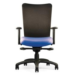 Neutral Posture(R) U4ia(TM) Mesh-Back Task Chair, 38in.H x 26in.W x 26in.D, Navy