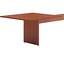 basyx by HON(R) BL Series Rectangle-Shaped Table End For Conference Table, Medium Cherry