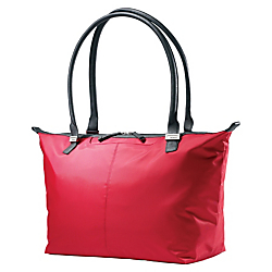 Samsonite(R) Jordyn Laptop Computer Bag, 12in.H x 21.25in.W x 7.5in.D, Ruby Red