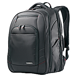 Samsonite(R) Xenon 2 Perfect Fit Laptop Backpack For Laptop Computers Up To 15.6in., Black