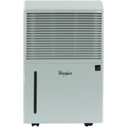 Whirlpool Energy Star Portable Dehumidifier, Portable Room, 50 Pint, 23 1/2in.H x 15 5/16in.W x 11 1/2in.D