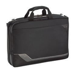 U.S. Luggage(R) Laptop Portfolio, 12in. x 16.5in. x 5in., Black