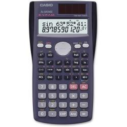 Casio FX300MS 10-dgt 2-line Scientific Calculator - 229 Functions - 2 Line(s) - 12 Digits - Battery/Solar Powered - 1 Each
