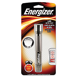 Energizer(R) LED Flashlight, 5 2/3in. x 9/10in., Gray